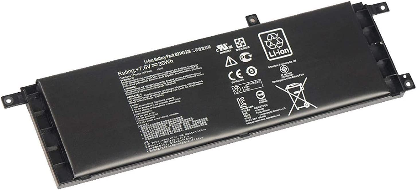 B21N1329 Laptop Battery for Asus X403 X403M X403MA X503M X502CA X453 X453MA X553 X553M F453 F453MA F553M P553 F553 D553M P553 P553MA Series Notebook X453M F553M Replace 0B200-00840000 (7.6V 30Wh