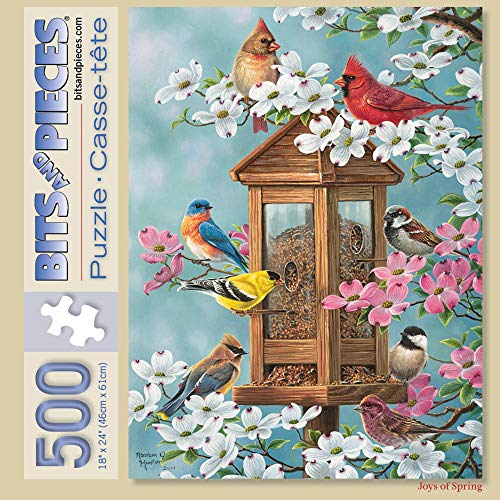 Bits and Pieces - 500 Piece Jigsaw Puzzle for Adults 18