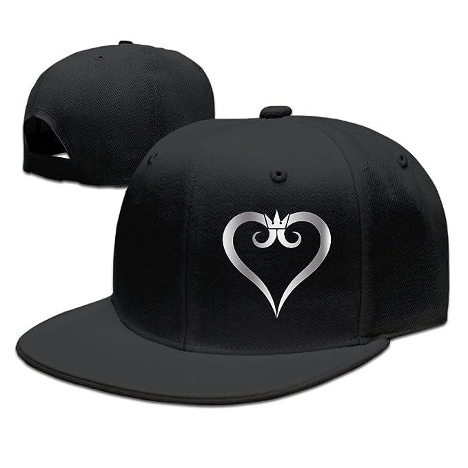 5ece83a7910 Amazon.com  Kingdom Hearts Platinum Style Baseball Snapback Hat Black  (7860915969211)  Books