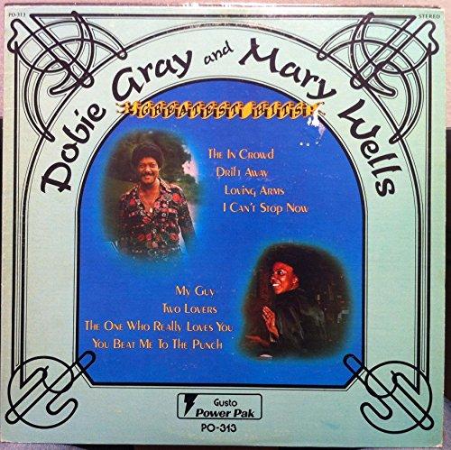 DOBIE GRAY & MARY WELLS GREATEST HITS vinyl record
