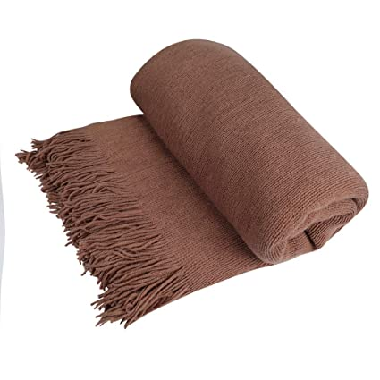 Amazon.com: Home and Garden Khaki - Funda para sofá o cama ...