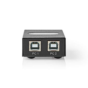 TronicXL - Conmutador de Puertos USB (1:2, 2 Unidades, para ...