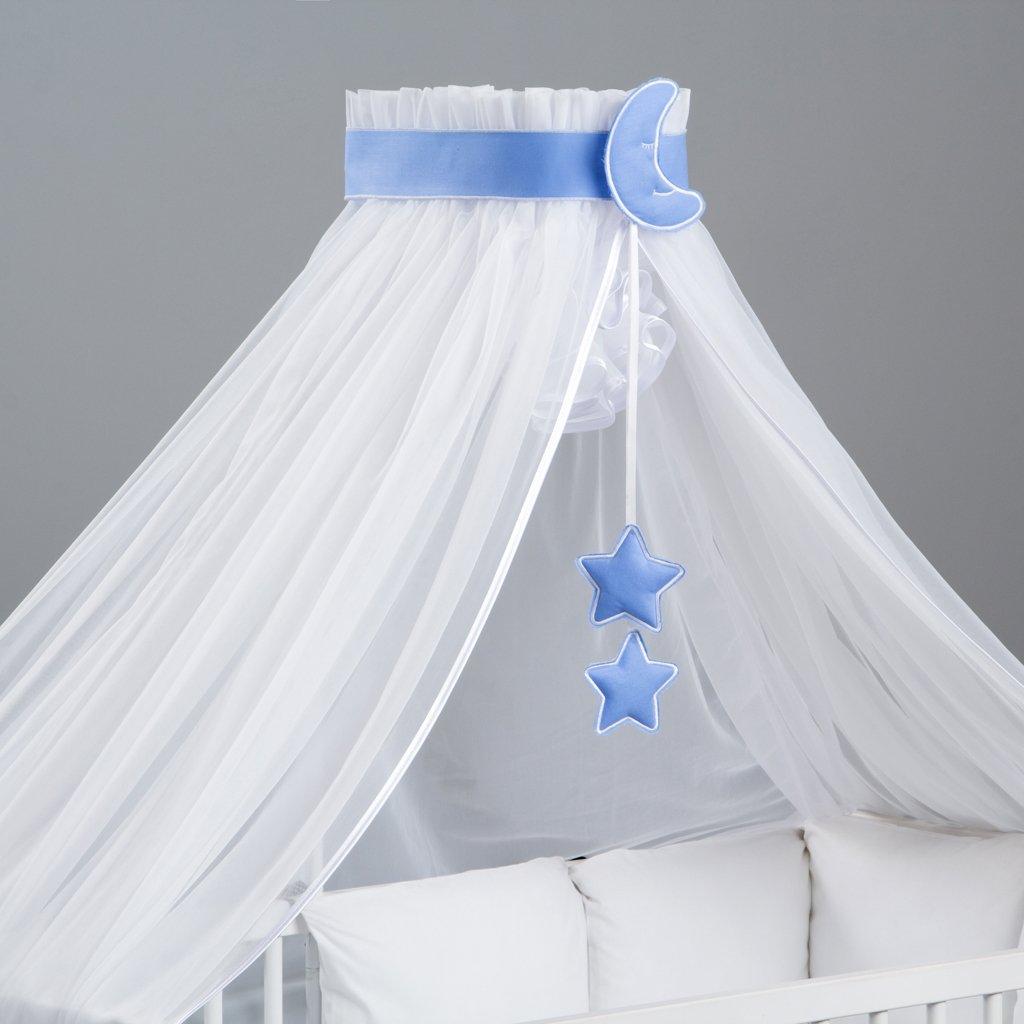 3-teilig Betthimmel bunte Dekoration und Himmelhalter entworfen von Dreamzzz
