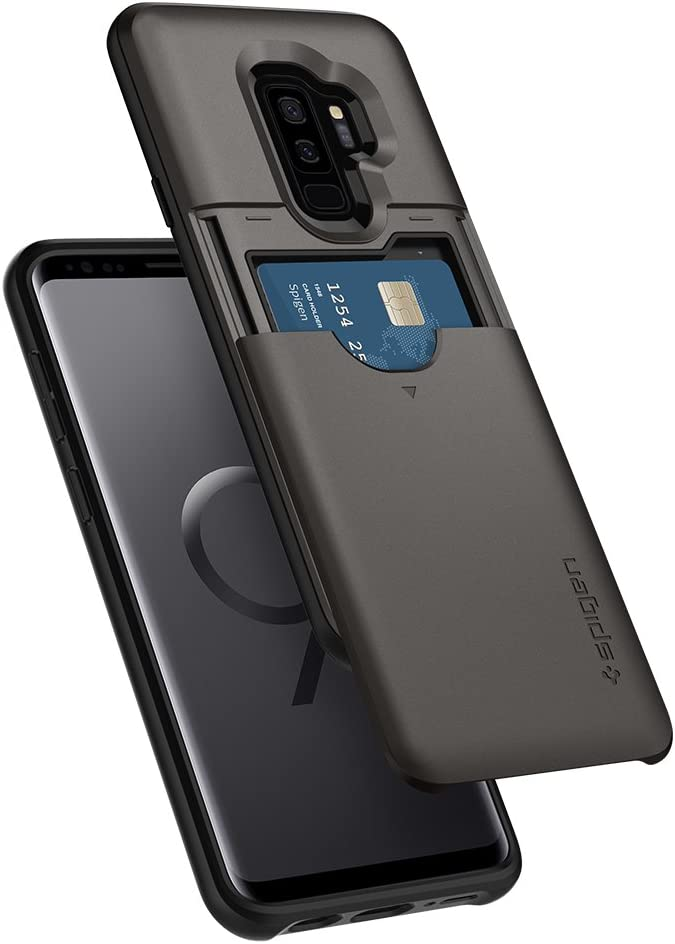 Spigen Slim Armor CS Designed for Samsung Galaxy S9 Plus Case (2018) - Gunmetal