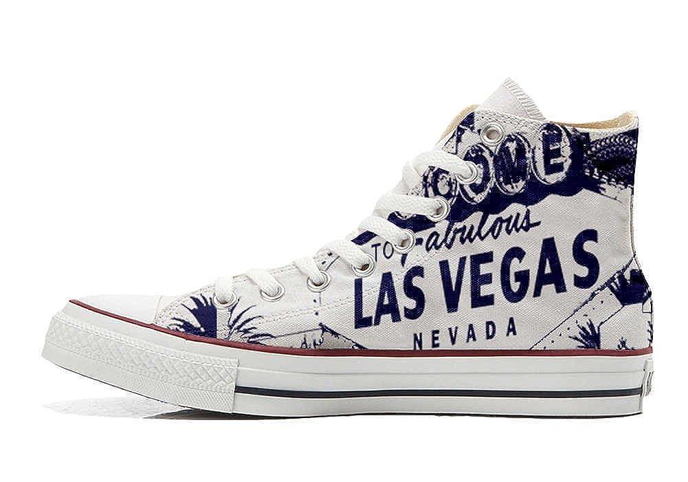 Converse All Star Personalisierte Schuhe Vegas - Handmade Schuhes - Las Vegas Schuhe - 0c4713