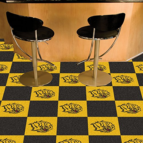 FANMATS 18713 NCAA University of Arkansas at Pine Bluff Team Carpet Tile