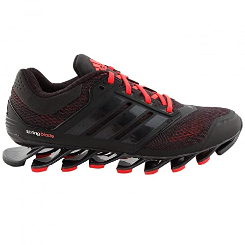 c827861e687b Abidas Men s Black and Red Mesh Spring Blade Shoes - 10.5  Buy ...
