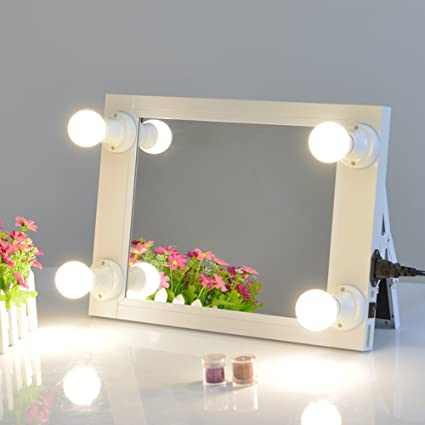 Portable Vanity Mirror With Lights Delectable Amazon Chende Hollywood Vanity Makeup Mirror With Lights