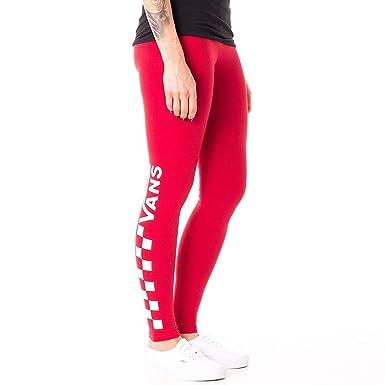 f3a7566961 Vans Leggings - Chalkboard red size  M (Medium)  Amazon.co.uk  Clothing