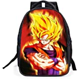 Dragon Ball Z Anime Goku Cosplay BookBag Rucksack Backpack School Bag (A)
