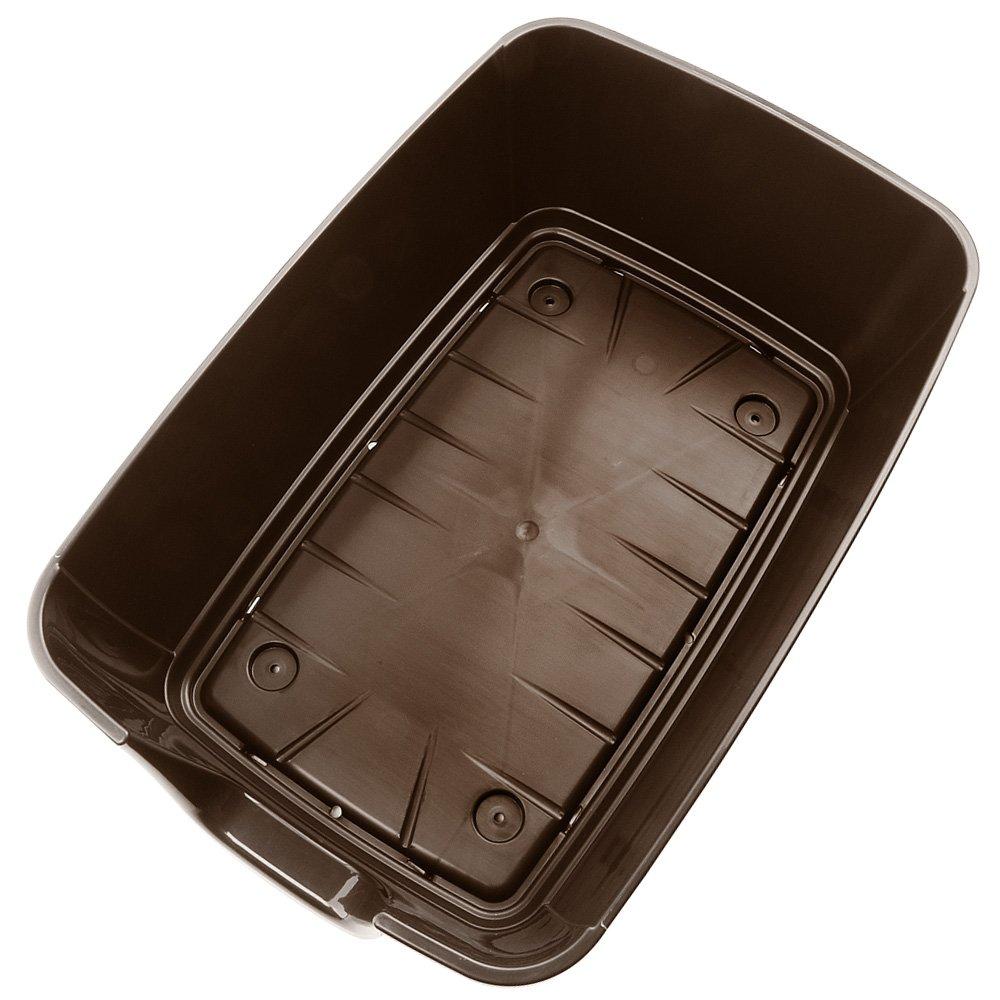 Feplast 87203921 Caseta de Exterior para Perros Kenny 07, Robusto Plástico Resistente A Los Golpes y A Los Rayos UV, Sistema de Drenaje de Líquidos, ...