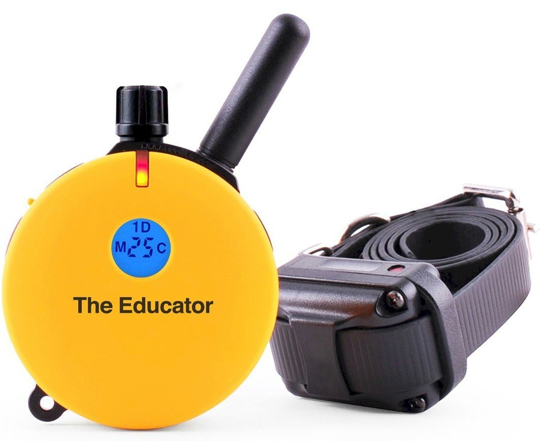 Educator ET-400  3/4 Mile E-Collar Remote Dog Training Collar With Vibration, Tapping Sensation and Pavlovian Stimulation