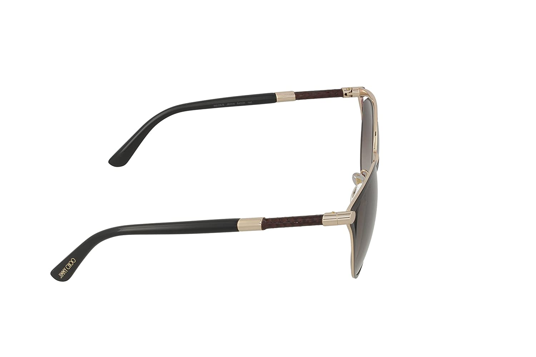 d0b2b817980 Amazon.com  Jimmy Choo Women s Neiza S Matte Black Brown Gradient Sunglasses   Clothing