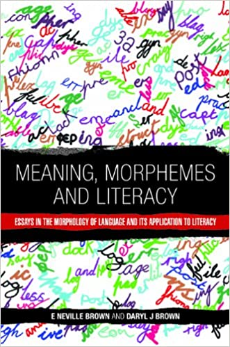 com meaning morphemes and literacy essays in the  meaning morphemes and literacy essays in the morphology of language and its application to literacy 0th edition