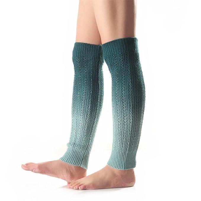 HET Damen mode new Winterwärmer Frauen bunte häkeln stricken Bein ...