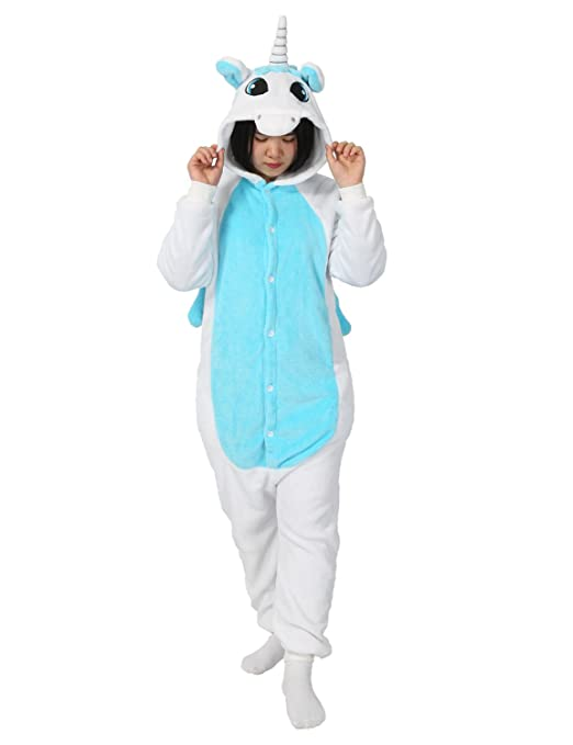 Très Chic Mailanda Karneval Halloween Pyjamas Schlafanzug mit Kapuze Erwachsene Cosplay Kostüm