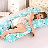 Pregnancy Pillow, U-Shaped Multifunctional Waist Pillow Core Multi-Function Side Pillow for Pregnant Woman