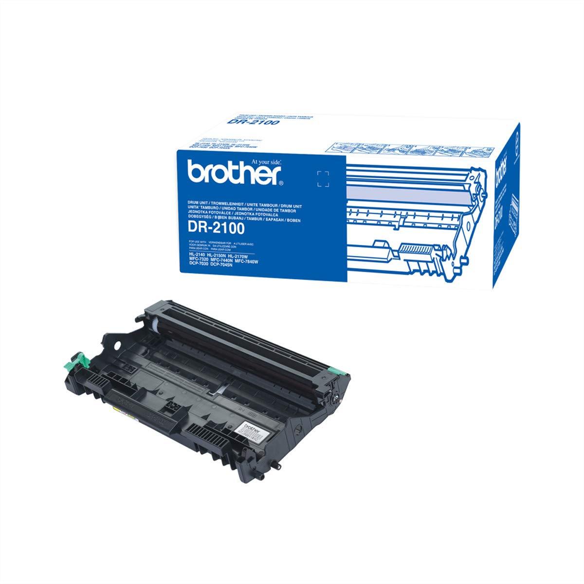 Brother DR2100 - Tambor para Impresora (duración Estimada: 12.000 ...