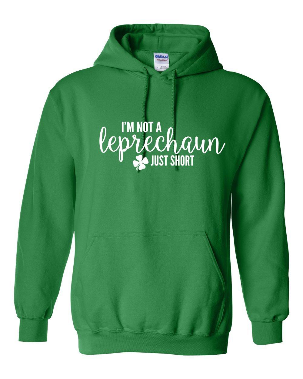 I'm Not a Leprechaun Just Short - Warm Heavy Hoodie