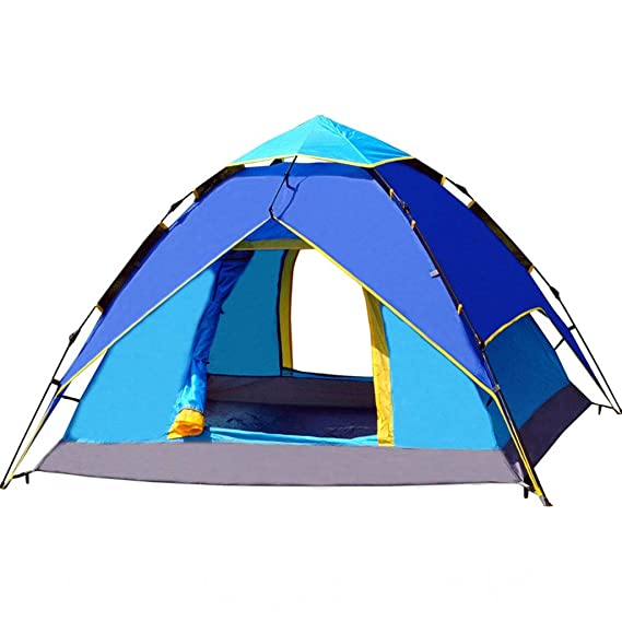ME- Carpas para Acampar, 3-4 Personas [Carpa instantánea] A ...