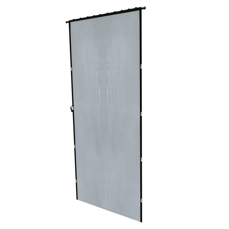 Hanging Door Screen 87h X 43w Magnetic Front Instant Screen Door