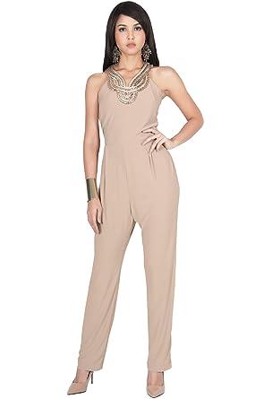 Amazon Com Koh Koh Plus Size Womens Sleeveless Long Sexy Cocktail