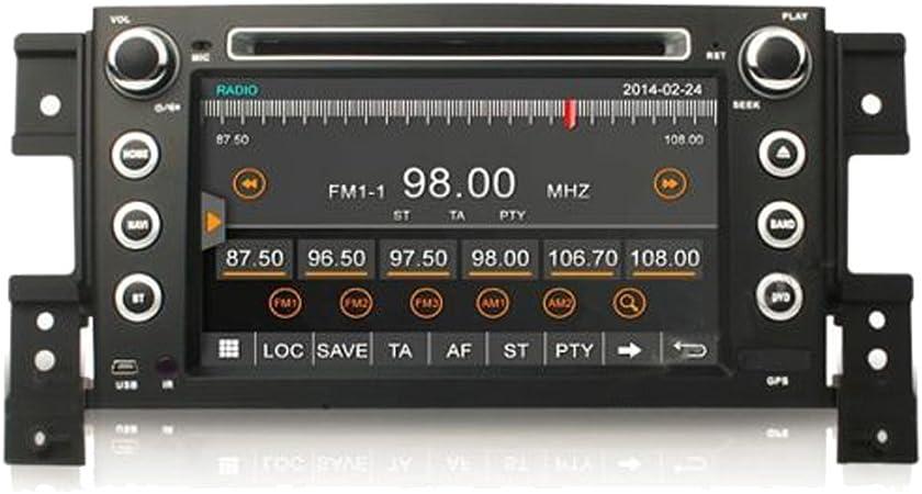Witson para 2005-2011 Suzuki Grand Vitara In-Dash DVD GPS navegador sistemacon 17,78 cm HD Digital pantalla táctil + costándoles Bluetooth/TV/ Radio + iPod Control + Control del volante: Amazon.es: Electrónica