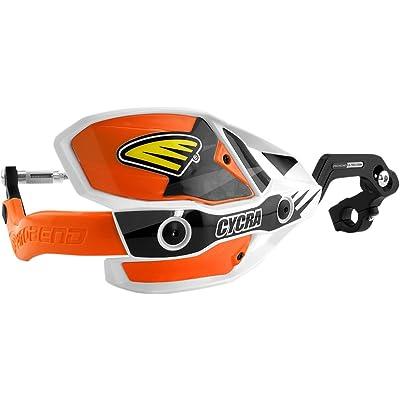 "Cycra Pro Bend Ultra Hand Guard Kit (1-1/8"") (Orange): Automotive"