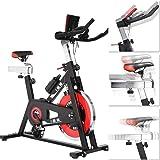 ISE Cardio vélo biking vélo d'appartement ergomètre vélo spinning biking exercice de fitness d'aérobie SY-7001