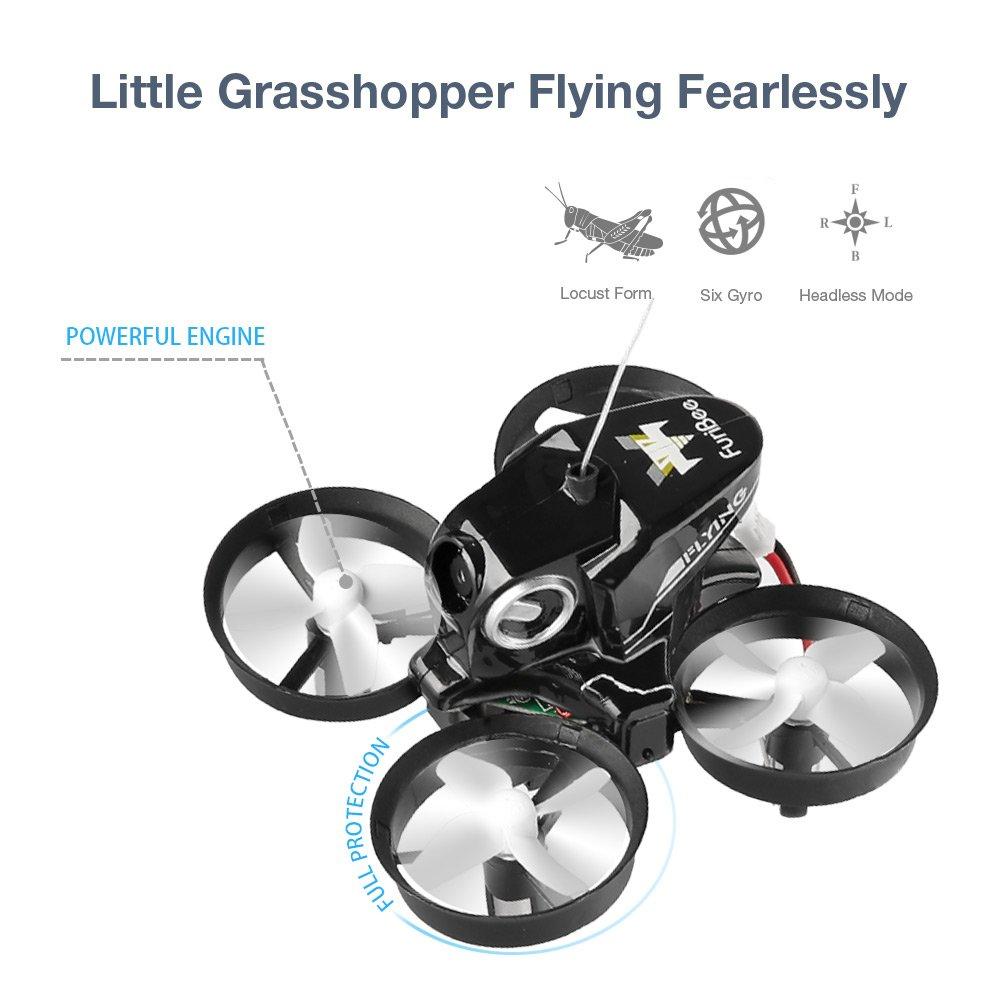 Furibee H801 Mini Drone - Mini Drone con WiFi (2,4 GHz, 720p ...
