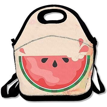 Bolsas de almuerzo aisladas de neopreno grande y grueso ...