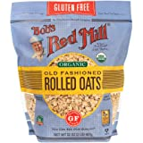 Bob's Red Mill Gluten Free Organic Old Fashioned Rolled Oats, 32 OZ