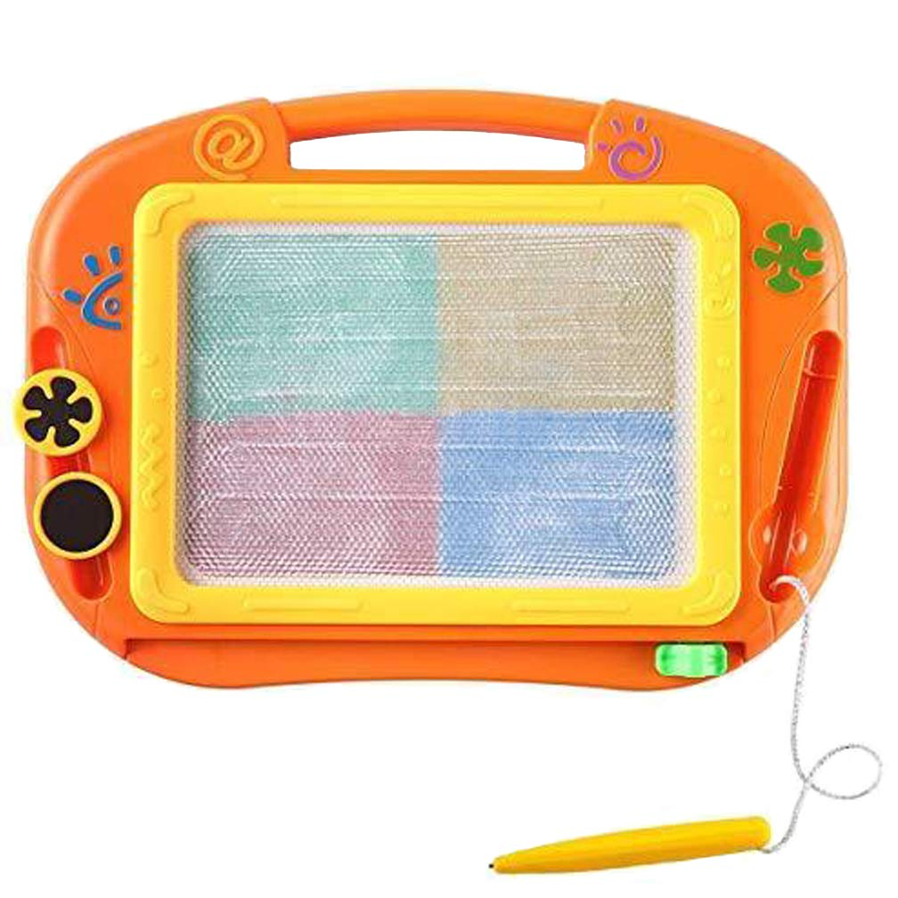 Syolee Magnetic Drawing Board Games Toys Colorful Magnet Erasable Doodle Scribble Tablet Education Sketching Writing Pad for Little Girls Boys Kids Children Travel