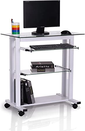 HOMCOM Mesa de Ordenador PC para Oficina Despacho Dormitorio ...