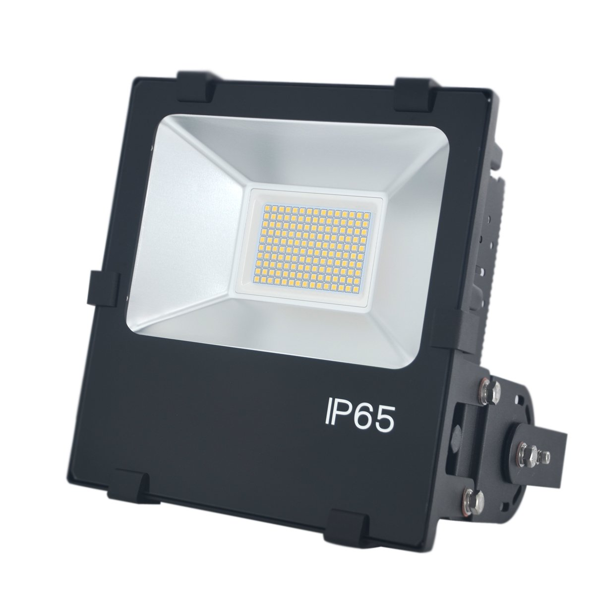 Led Flood Light Fixtures: 100W LED Flood Light Fixture- Daylight White 5000K-10000