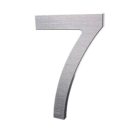 Amazon.com: Números de casa modernos: número de dirección ...