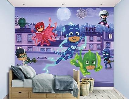 Walltastic, Mural, PJ Masks,, 243 cm x 304 cm