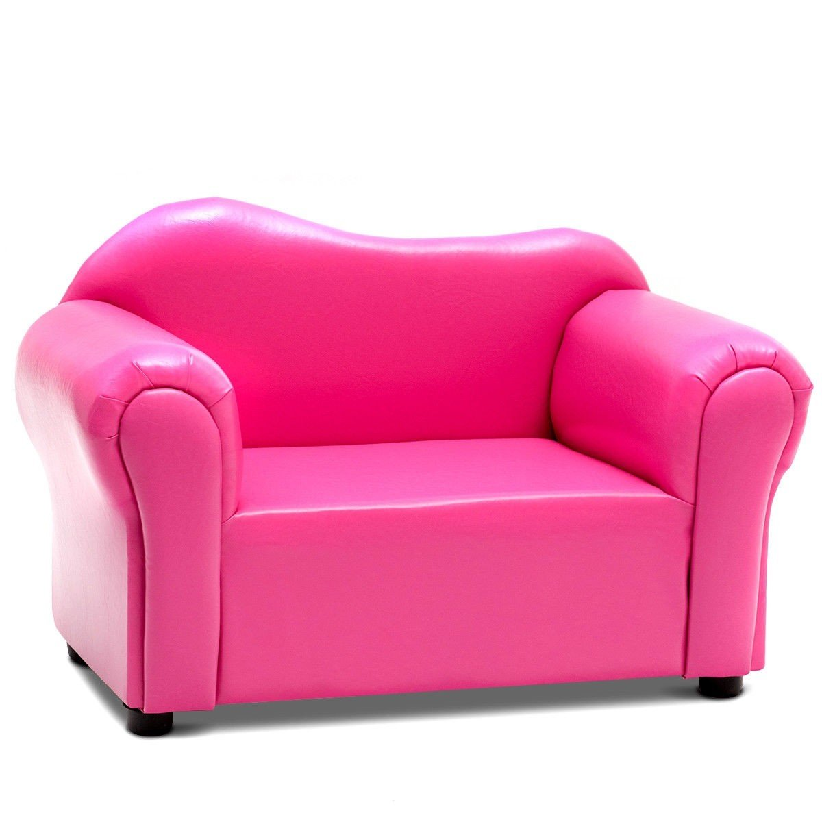 Svitlife Kids Armrest Chair Sofa Couch Gift Birthday Home Pink Storage Kid Recliner Seat
