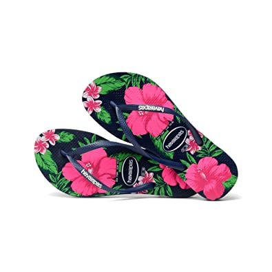 327fba71f711 Havaianas Authentic Brazil - Slim Floral