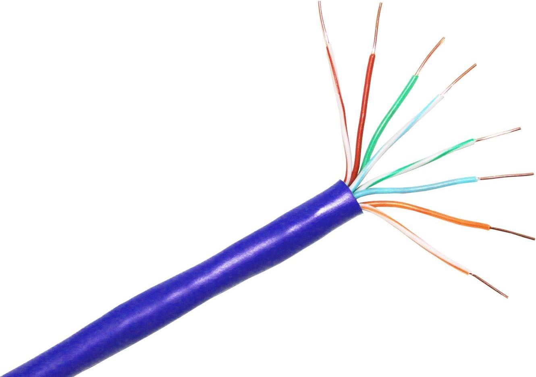6 550MHZ Stranded Bulk Cable C6-207-4P-BL CP Technologies CAT