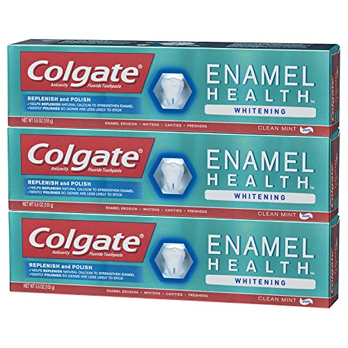 Colgate Enamel Health Whitening Toothpaste - 5.5 ounce (3 Pack) by Colgate (Image #6)