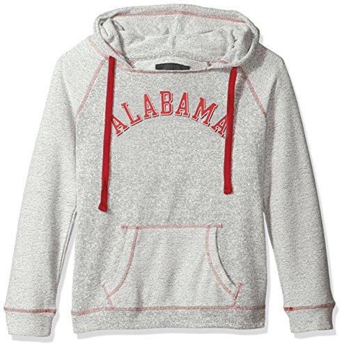 Camp David NCAA Horizon Damen Rückseite Sleeve und Pocket Kapuze, Damen, Horizon, Pepper/Ruby, Medium