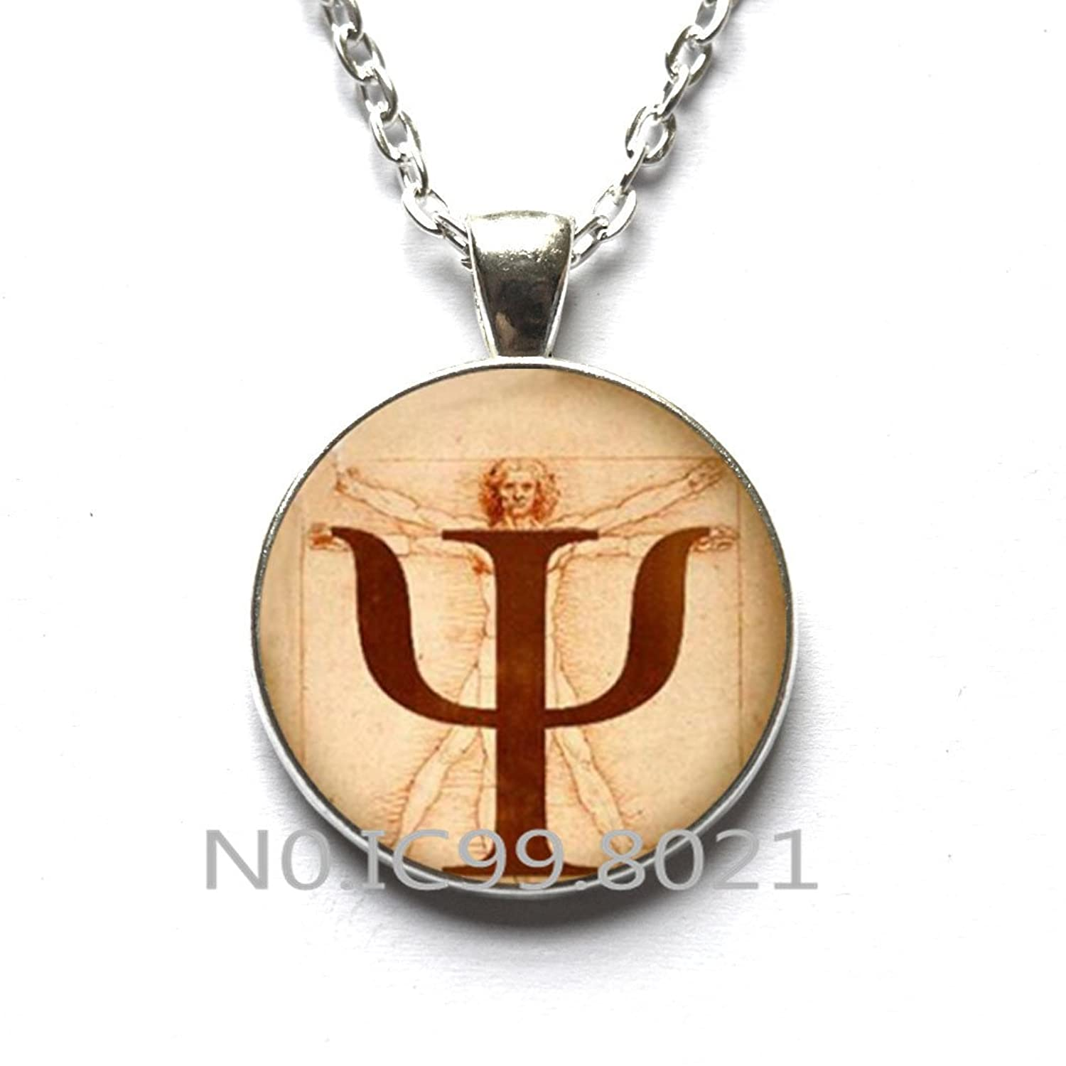 Amazon Fashion Necklace Fashion Pendantpsi Symbol Necklace