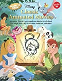 img - for Learn to Draw Disney's Classic Animated Movies: Featuring favorite characters from Alice in Wonderland, The Jungle Book, 101 Dalmatians, Peter Pan, and more! (Licensed Learn to Draw) book / textbook / text book
