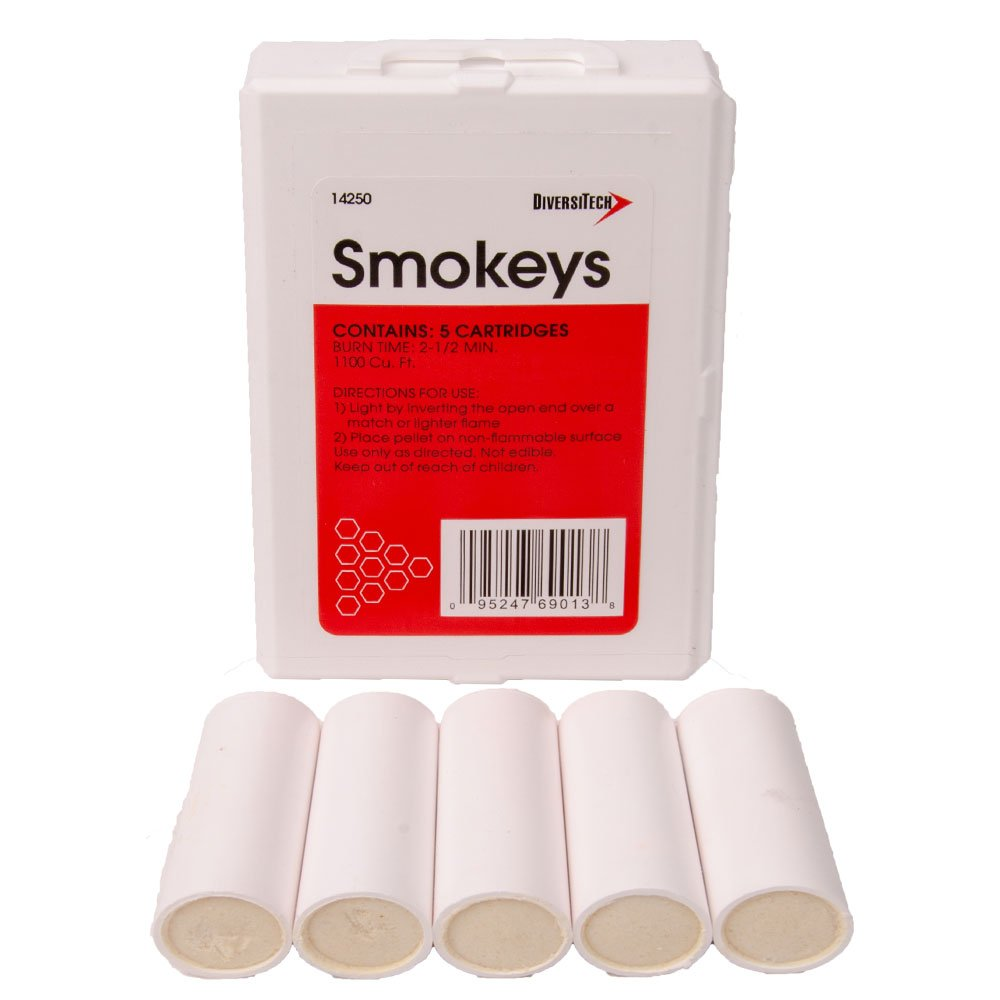 Diversitech 14250 Smokeys, 2-1/2Min Bt, Pk Of 5,