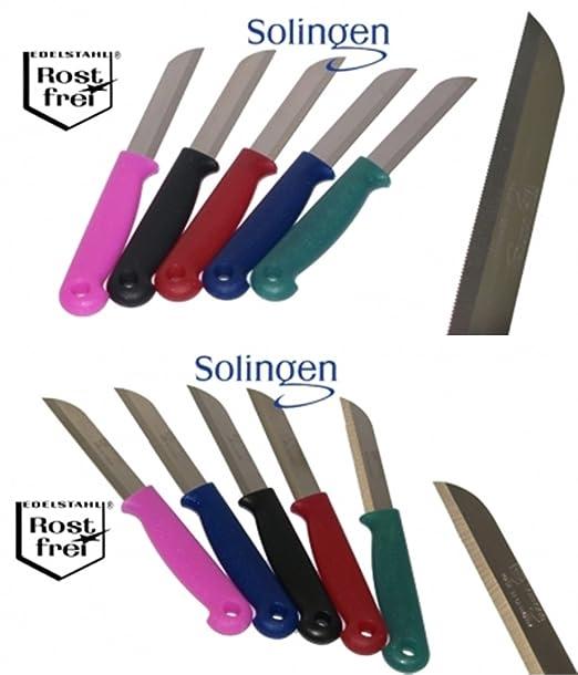 10 pieza original Solingen Cocina Cuchillo * fruta Cuchillo ...
