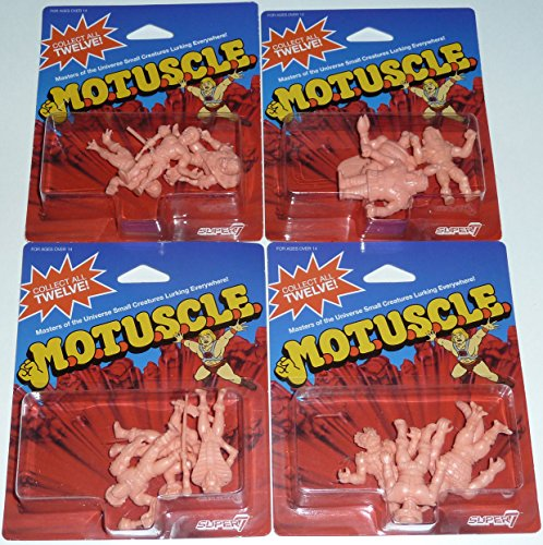 SDCC 2015 MUSCLE MOTUSCLE Set of 12 Figures M.O.T.U.S.C.L.E. He-Man Masters of the -