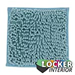 """School Locker Interior 10"""" Square Locker Fur Rug Carpet"""