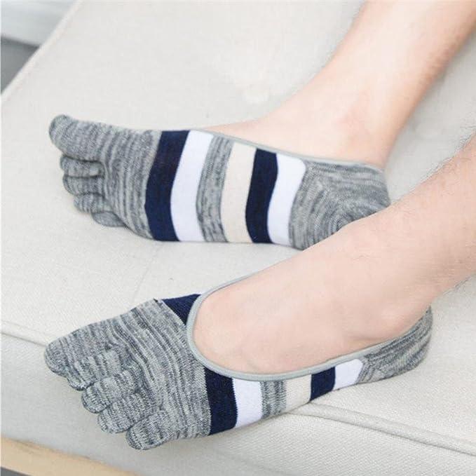1 par de Calcetines de algodón para Hombre, Corte bajo, Finos, con ...
