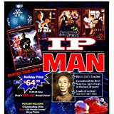 IP Man Wing Chun Gift Set 4 DVD Movies + 108 Wooden Dummy Poster $120 Value